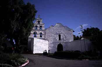 Mission San Diego, Digitally Stylized